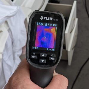 Thermal Imaging during heat treatment
